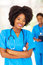 African medical workers