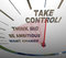 Take Control Speedometer Think Big Want Change