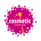 Vector logo of the stars for cosmetics