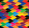 Seamless abstract colorful background of arrows &