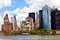 New York City Panorama with Manhattan Skyline over Hudson River