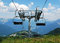 Ski Lift on Monte Zoncolan in Summer