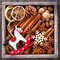 Christmas spices and Christmas toys