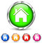 Round home icons