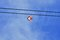 Aerial marker balls high power line