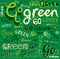 Go Green Eco Word background