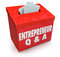 Entrepreneur Questions Answers Box Information