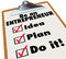 Be Entrepreneur To Do List Idea Plan Do It