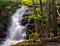 Crabtree Falls in George Washington National Forest in Virginia
