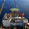 Top View of Offshore Drilling Rig
