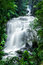 Tropical rain forest landscape with Sirithan waterfall. Thailand