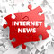 Internet News on Red Puzzle.