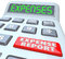 Expense Report Calcualtor Adding Receipts Business Costs