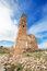 Ruins of an old building destroyed during the spanish civil war in Belchite
