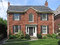 Two story brick house