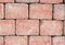 Light red brick wall texture
