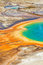 Grand Prismatic pool in Yellowstone National Park