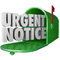 Urgent Notice Mail Critical Important Information Message Mailbo