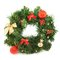 Wreath fir-tree branch decoration