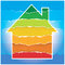 House symbol with Energy performance scale.