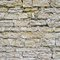 Old castle brick wall