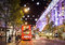 13 November 2014 view on Oxford Street, London, decorated for Christmas and New Year