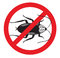 Pest Control No More or Kill Cockroaches sign