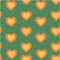 Valentine heart seamless pattern background love sign, for internet content, decoration