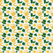 Happy St. Patrick's Day! Vector seamless pattern.