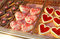 Lots of heart donuts