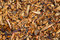 Pine wood chips. Pieces of wood. Texture