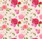 Seamless pattern with roses. Floral background. design composition