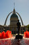 Saint Louis, Missouri - Old Courthouse and Gateway Arch