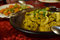 Moroccan tagine meal