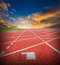 Athlete Track or Running Track.