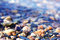 Colorful pebbles background
