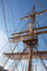 Mast of sail ship