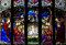 The Nativity : the birth of jesus in stained glass