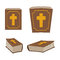 Bible is Holy Book set. Different version of Holy Book of ancie