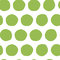 Hand painted seamless polka dot pattern. Abstract green fresh organic background.