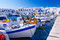 Famous fishing port in Naoussa, Paros island, Greece