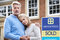 Mature Couple Forced To Sell Home Through Financial Problems