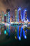 Dubai marina skyline, Dubai, United Arab Emirates