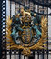 Coat of Arms, Queen, Buckingham Palace, London, England