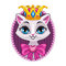Cute beautiful princess kitty portrait