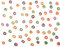 Fruit cereals seamless pattern