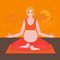 Yoga poses for pregnant women, future mother, healthy lifestyle exercises, baby care, motherhood and fitness