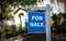 HOUSE FOR SALE - BLUE SIGN