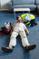 Female paramedic during cardiopulmonary resuscitation training