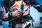 REd Bull Energy Drink in the hands of a rider
